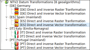 Datum transformations with NTv2 grids in QGIS: the easy way