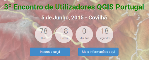 3rd Portugal QGIS user meeting